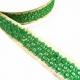 Cinta bordada con incrustación de lentejuelas Babachic/Moodywood - Verde - 30 mm