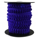 Línea de mini pompones - Azul - Babachic/Moodywood - 10 mm
