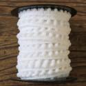 Línea de mini pompones - Blanco - Babachic/Moodywood - 10 mm