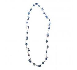 Long Light collar - Blue Berry Babachic/Moodywood