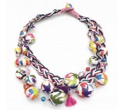 Collar Trenza - Multicolor - Splash