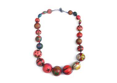 Collar Short Round - Cereza