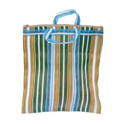 Bolsa de nylon - Amarillo, verde y azul