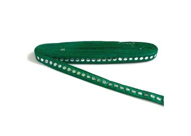Galón espejos - Verde abeto - 18 mm