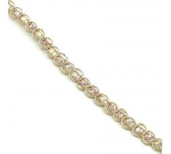 Galón Indio - Diamantes - Rosa pálido - 6 mm - Babachic/Moodywood