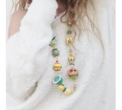 Kits collar DIY - Midshort - Verde claro