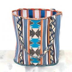 imagen bolsa de playa bohochic ibiza style azul babachic moodywood