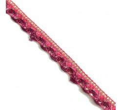 Galón Indien - Rosa - 10 mm
