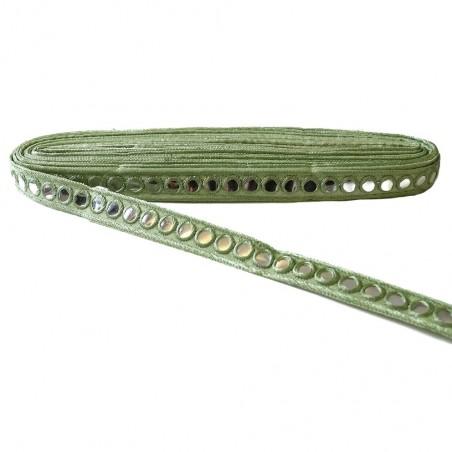 Galón espejos - Verde - 20 mm